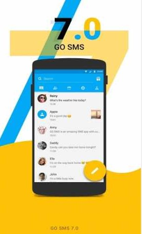 GO SMS Pro Premium 7.88 Unlocked + Sticker, Font, Theme Pack