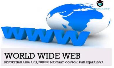 Pengertian WWW Para Ahli, Fungsi, Manfaat, Contoh