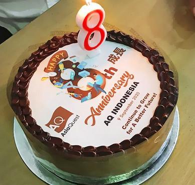 Selamat ulang tahun ke-8 AsiaQuest Indonesia!